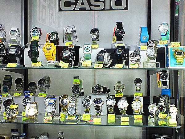 腕時計の販売