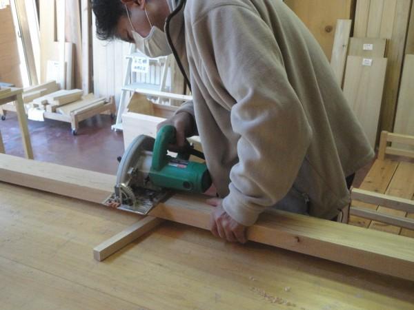 木材の直線カットをきれいに -木材をカットする時 …