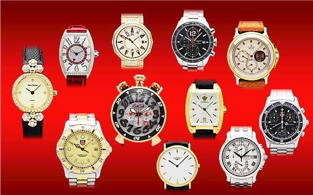 ブランド品の時計の買取