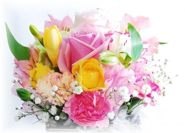 お別れ花の写真