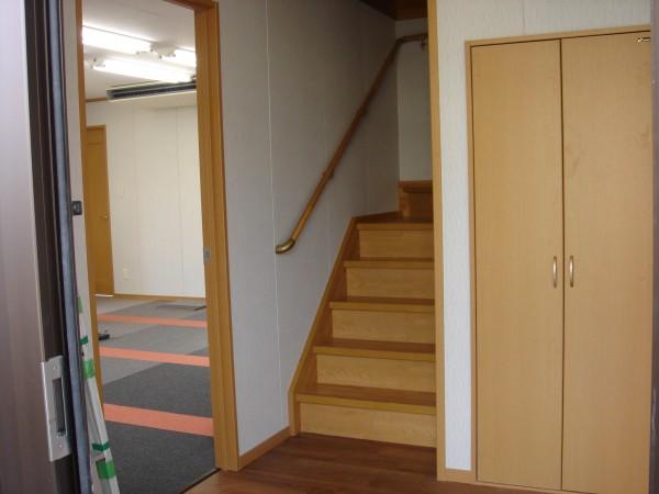 ユニットハウス階段 2階建 内装オプション