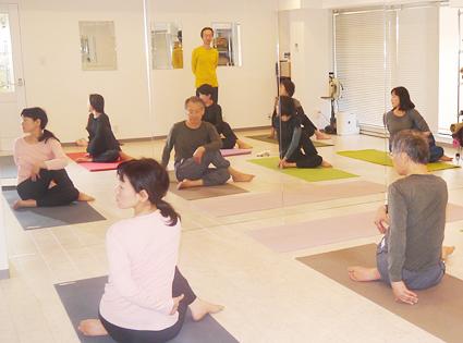 health step yoga studioの画像