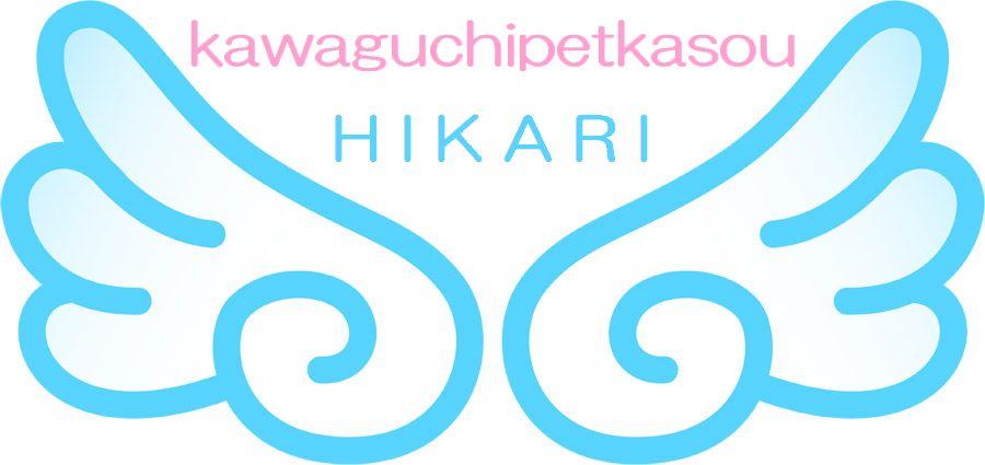 埼玉県川口市の川口ペット火葬ひかりの天使の羽根のイラスト。