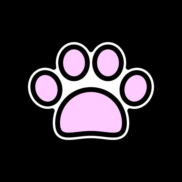 ペットの肉球。
