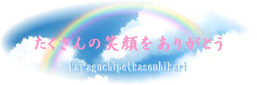 埼玉県川口市の川口ペット火葬ひかりからペットに送る言葉としてたくさんの笑顔をありがとう。